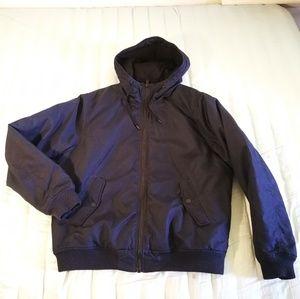 H&M Dark Blue Padded jacket